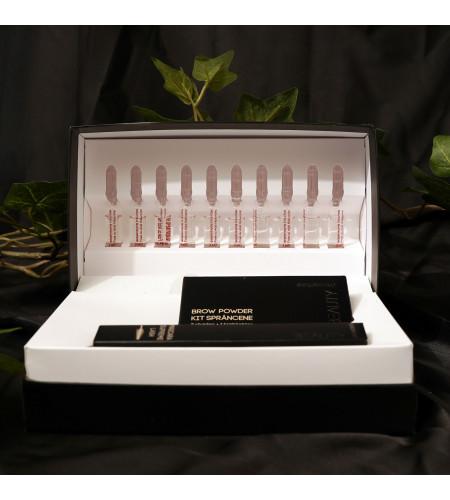 GIFT BOX με Αμπούλες Υαλουρονικού + Μάσκαρα + Σκιές Φρυδιών