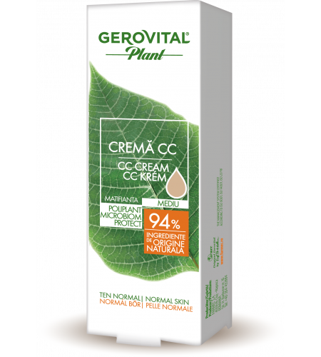 Κρέμα CC Medium Mattifying Microbiom Protect