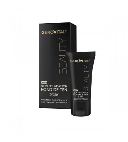 Foundation - Make Up Με Υαλουρονικό Οξύ, Βιταμίνη Ε & SPF10