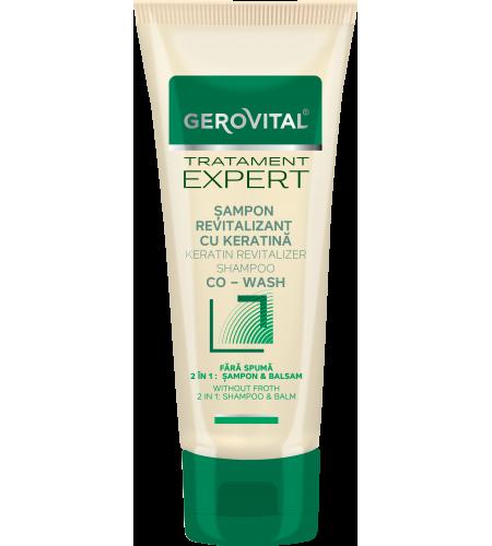 Σαμπουάν Revitalizer 2 σε 1 shampoo & balm με Κερατίνη