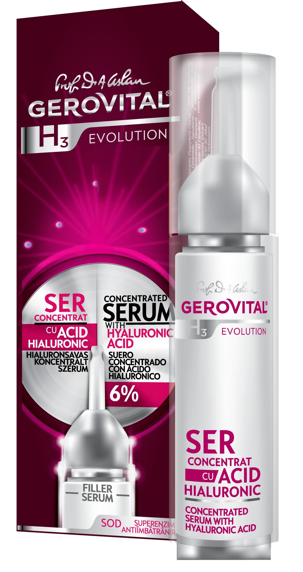 Ορός - Serum - με Συμπυκνωμένο Υαλουρονικό Οξύ